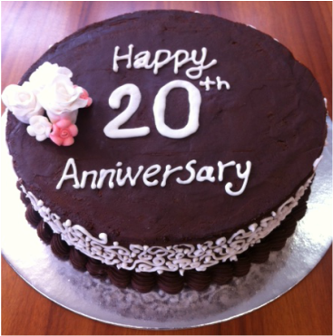 Pictures Of Marriage Anniversary Cake